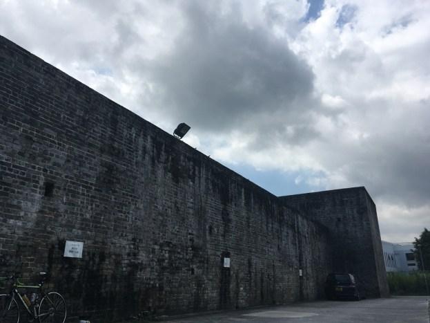 新圍的圍牆