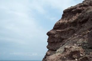海灘上的岩石