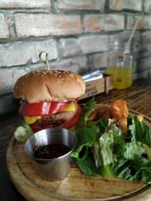 vegetarian burger