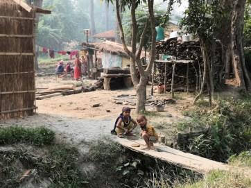 Bardia National Park [Tharu village walk]