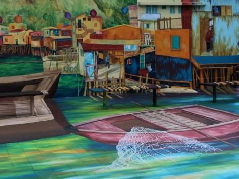 大澳藝術活化計劃-「一壁一畫一故事」