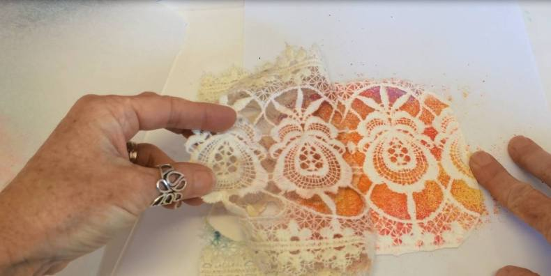 Debbie Crothers Polymer Clay Artist & Instructor. Polymer clay lace veneer tutorial.