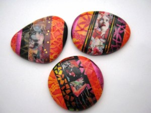Debbie Crothers Polymer Clay Artist & Instructor. Polymer clay jewellery gallery.