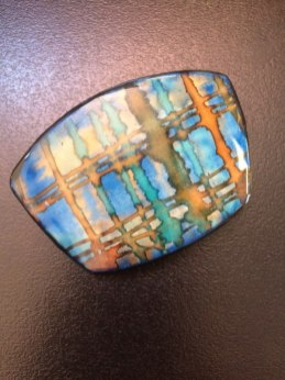 Debbie-Crothers-Polymer-Clay-Artist-Instructor-Tutorial-Handpainted-Pendant-Component