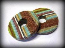 Debbie-Crothers-Polymer-Clay-Artist-Instructor-Scrappy Stripes-Components-Jewellery-Jewelry-Handmade-Clay-Texture-Tutorial