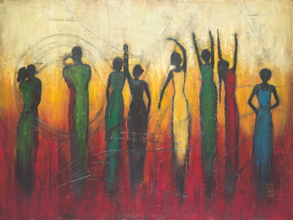 Feminine Spirit: Black Silohuettes