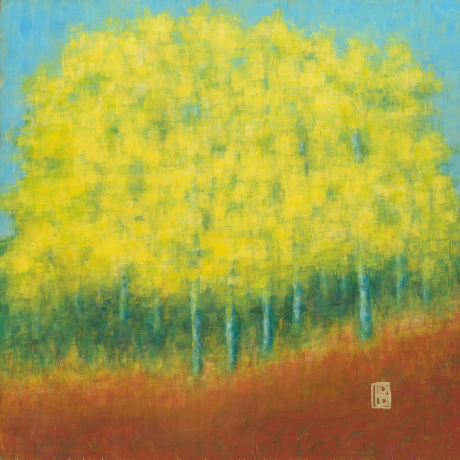 Yellow Trees Mosaic