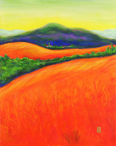 Orange Fields 1