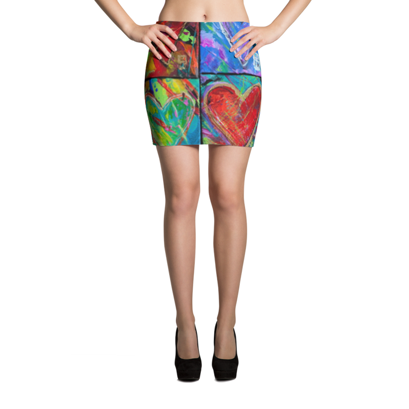 Fine Art Fashion Miniskirts