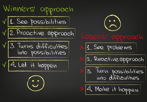 Winners Approach vs Losers Approach