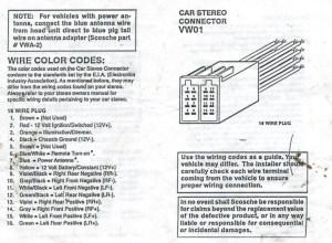 Barry L Kramer's 2001 Jetta Audio System Installation
