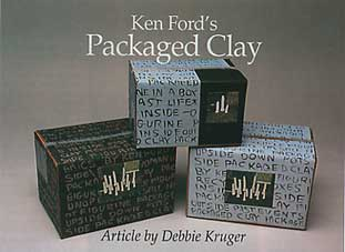Heading and photo of packaged clay