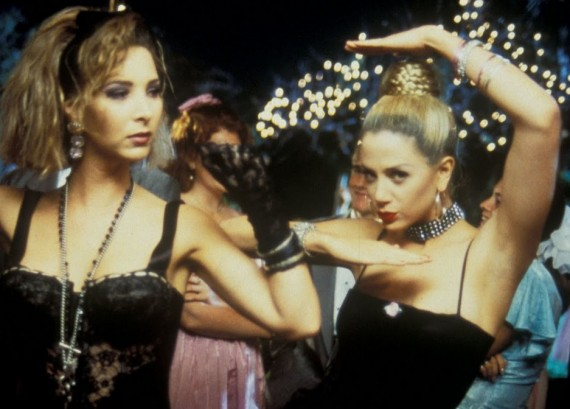 Stars of (possibly) the most famous school reunion movie, Romy & MIchelle. Via blog.quickflix.com.au