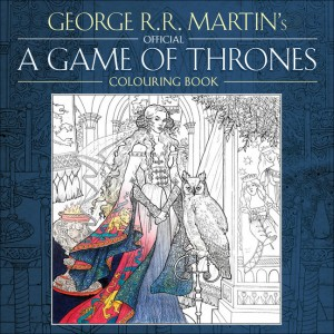 gmae of thrones colouring book