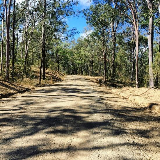 dirt road - work road trip