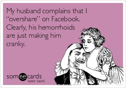 oversharing with others