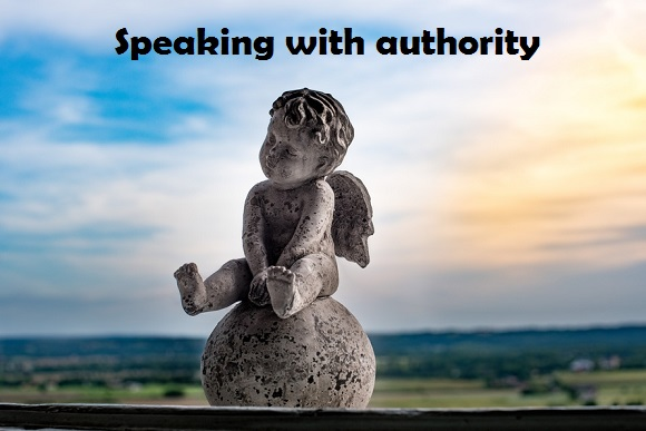 speaking with authority
