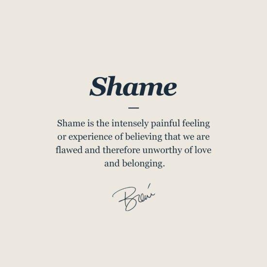 shame versus guilt