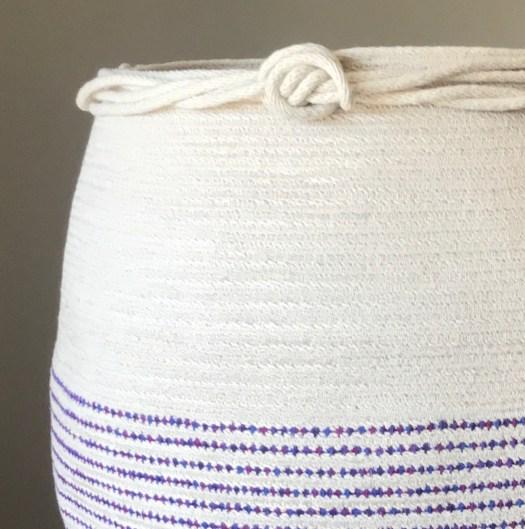 basket finishing detail