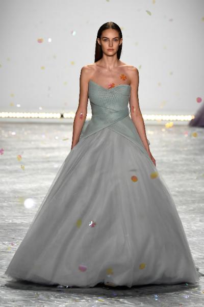 Monique Lhuillier semana de la moda NY
