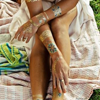 colección de tatuajes joya de Flash tatoo ISABELLA