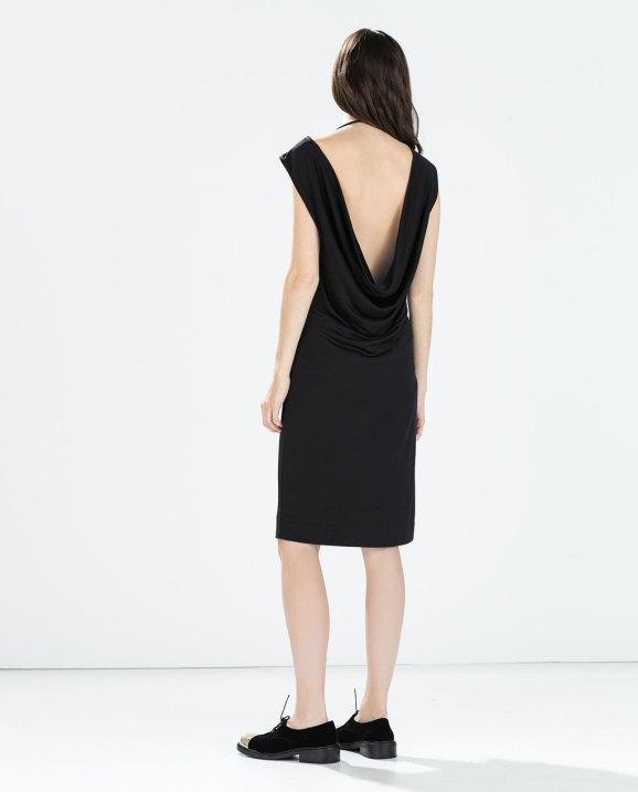 vestido espalda al aire zara