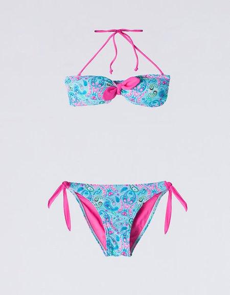 Bikini Paisley SuiteBlanco