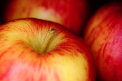 Manzana: piel radiante
