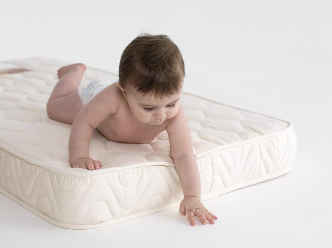 Baby Cot Mattress  Black Cribs