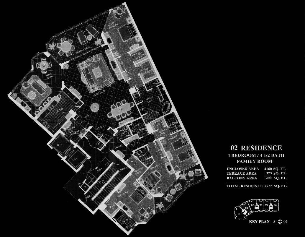 Trieste at Bay Colony 02 Floor Plan