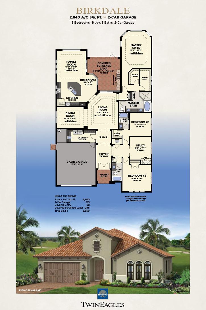Minto Twin Eagles Birkdale Floor Plan
