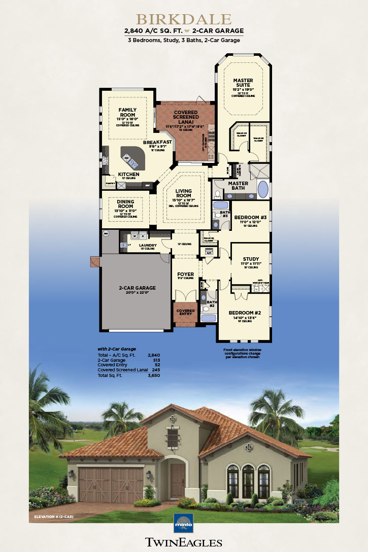 Minto Twin Eagles Birkdale Floor Plan