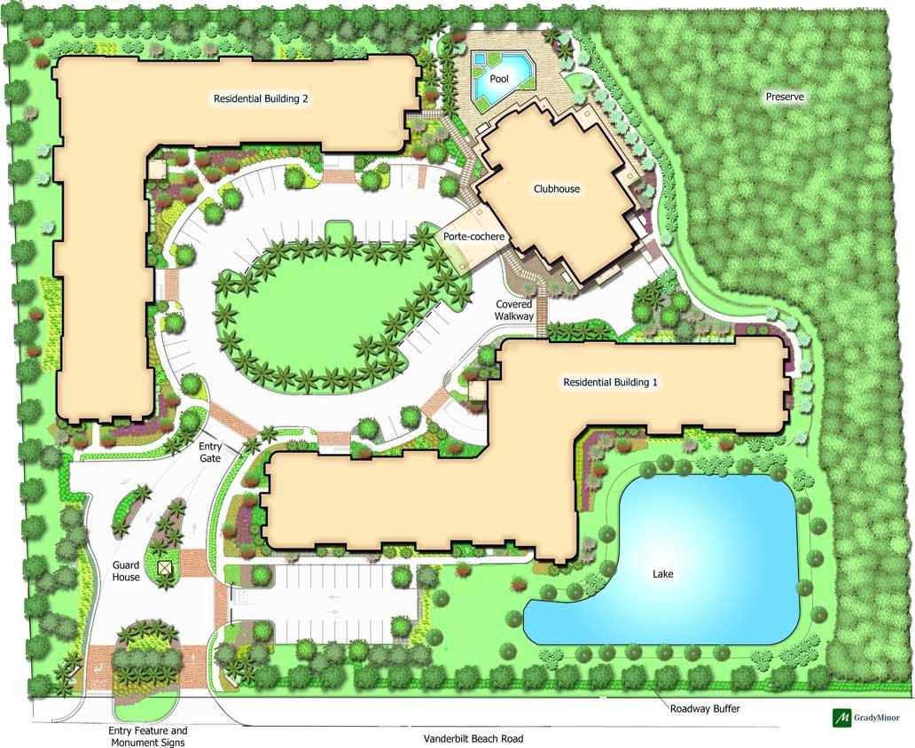 Sandalwood Village Siteplan