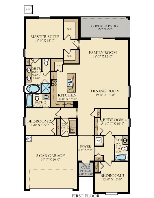 Lennar Twin Eagles Sophia Floor Plan