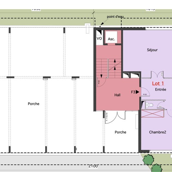 plan appartement architecte