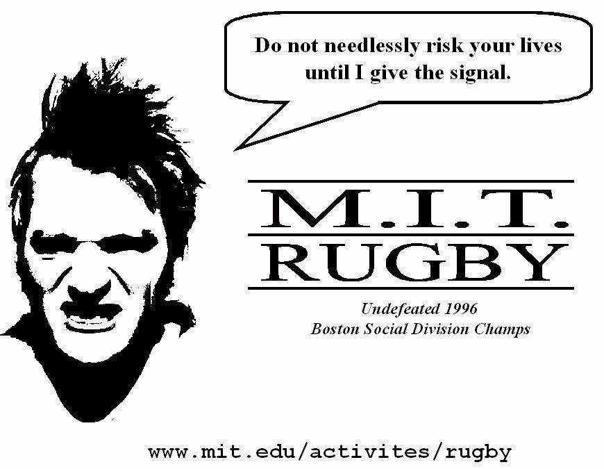 Jeremy S. De Bonet : MIT Rugby Football Club