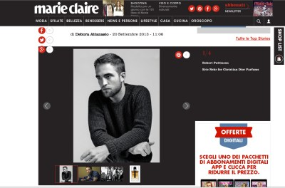 Interview with Robert Pattinson