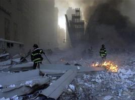 Ground zero rubble