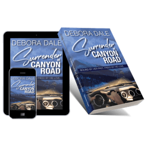 Surrender at Canyon Road book cover - paperback, and ebook for phone and tablet