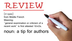 Request for reviews - tips for writers