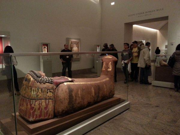 Metropolitan Museum of Art Egyptian Mummy
