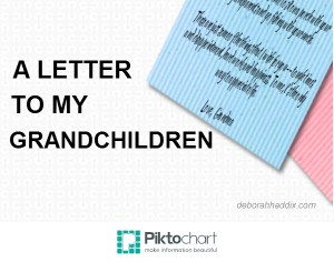 A Letter to My Grandchildren (1)