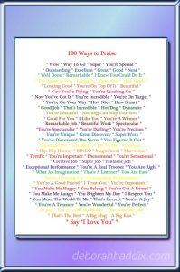 100 Ways to Praise