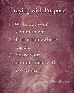 PrayingwithPurposeposter