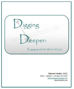 Digging Deeper Title Page