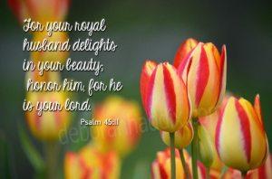 Psalm 45.11