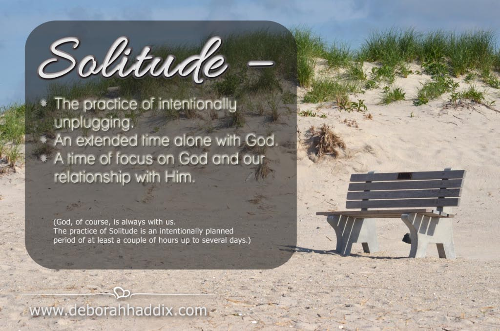8 tips, ideas, and inspiration for observing a time of spiritual solitude.