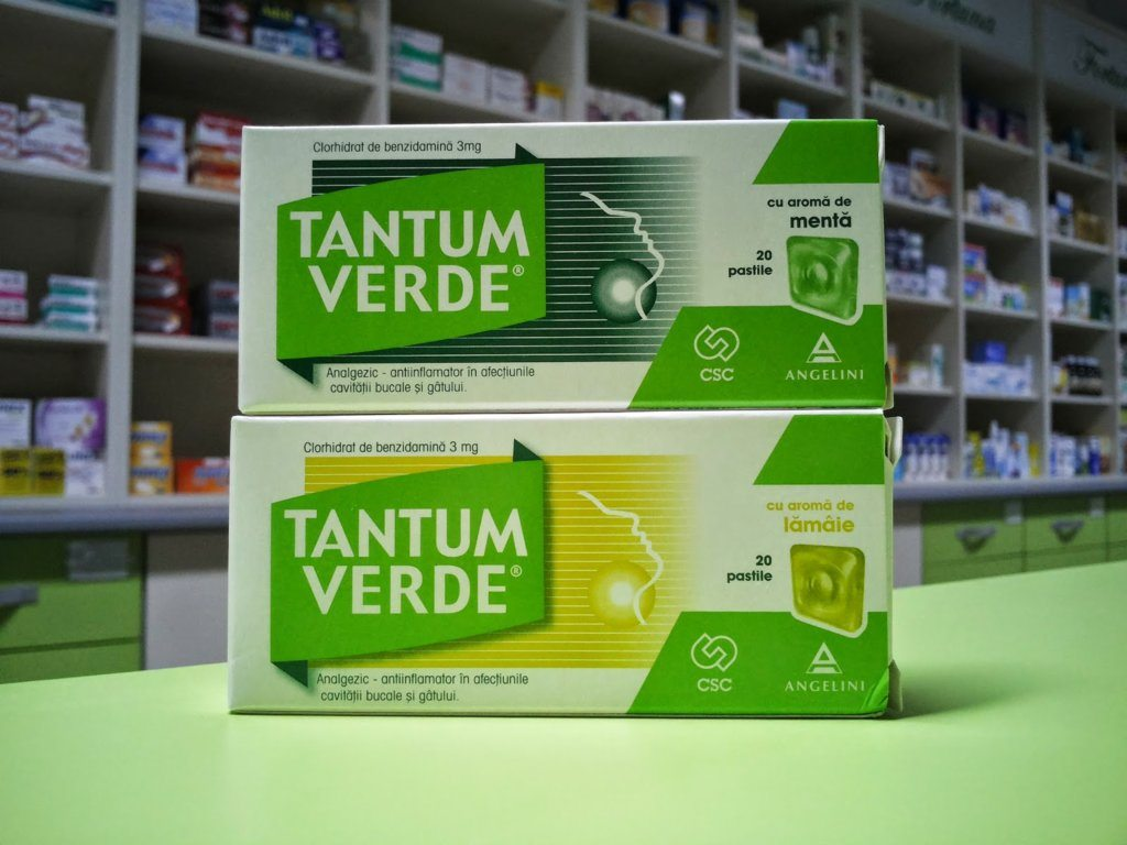 Tantum Verde + Tantum Lemon – Review