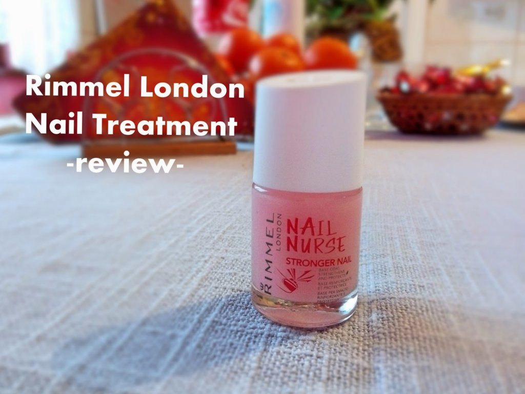 Rimmel London Nail Nurse – review