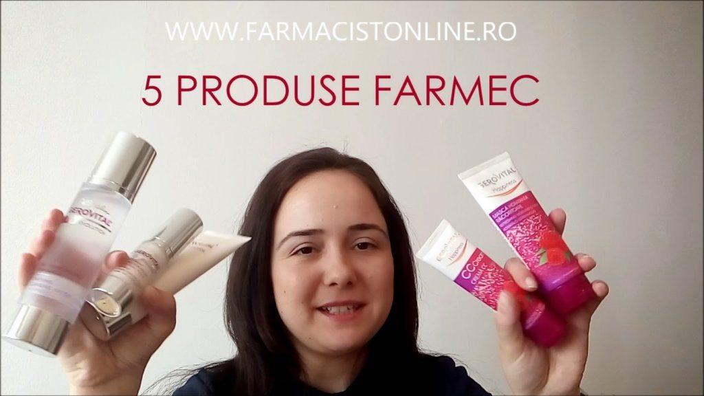 5 produse Gerovital – Farmec – video